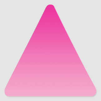Pink Ombre Triangle Sticker