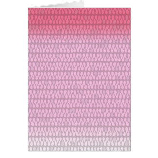Pink Ombre Twist Card