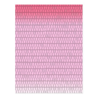 Pink Ombre Twist Postcard