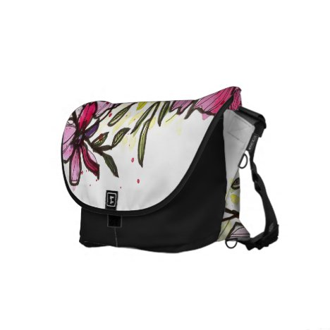 Pink on Parade Courier Bag