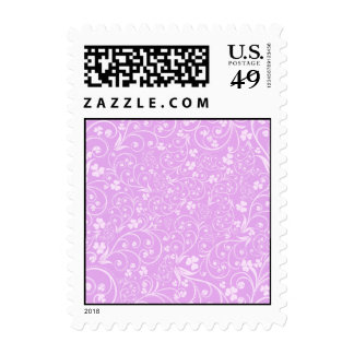 Pink on Pink Foliage Postage Stamps