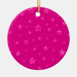 Pink On Pink Starry Ornament