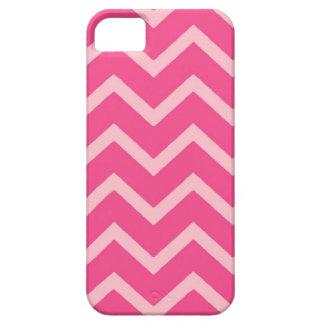 Pink on pink theme chevron iphone 5 case