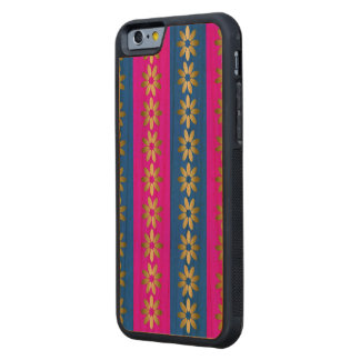 Pink one and blue carved® cherry iPhone 6 bumper case