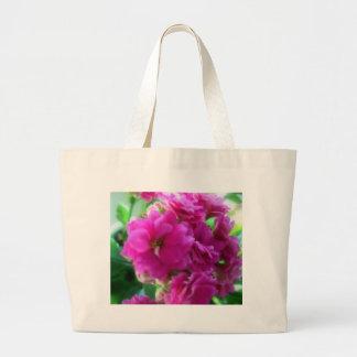 Pink one beauty (Kalanchoe bare field IANA) Tote Bags