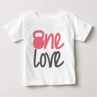 "Pink ""One Love"" Baby T-Shirt"
