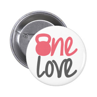 Pink One Love Pins