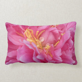 Pink one peony pillows