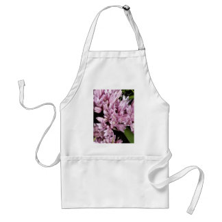 Pink Onion Flowers Adult Apron