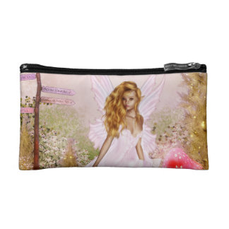 Pink Opal Cosmetic Bags