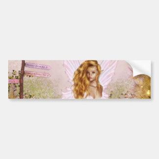 Pink Opal Bumper Sticker