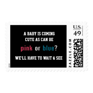 PINK OR BLUE? Postage