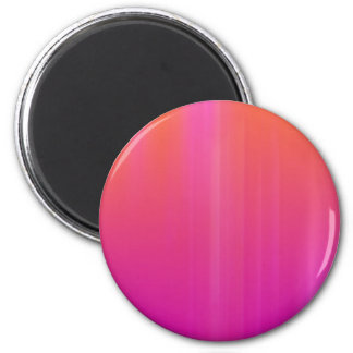Pink & Orange Abstract Artwork: Magnet
