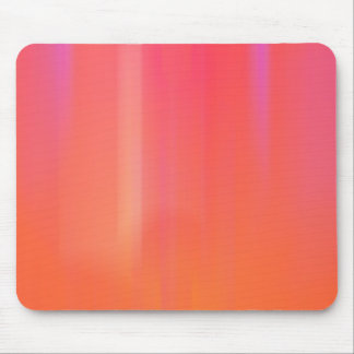 Pink & Orange Abstract Artwork: Mouse Pad