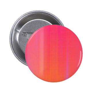 Pink & Orange Abstract Artwork: Pinback Button