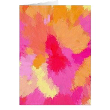 celestesheffey Pink, Orange and Yellow Watercolors Card