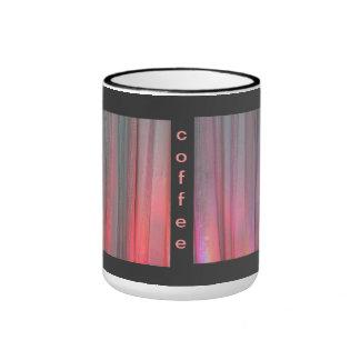 Pink Orange LED Wash Lighting Coffee Mug