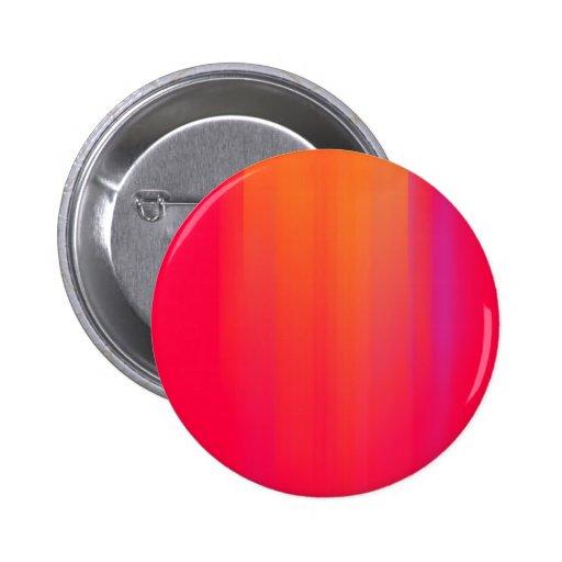Pink & Orange Motion Blur: Pinback Button
