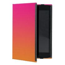 Pink & Orange Ombre Cover For iPad Mini