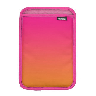Pink & Orange Ombre Sleeve For iPad Mini