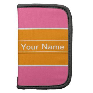Pink Orange Pattern Sleeves Planner