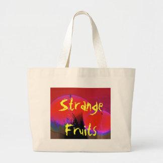 Pink Orange Pear, Strange Fruits Bag
