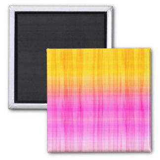 Pink & Orange Silk Magnet