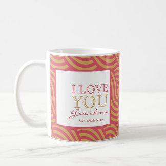 Pink & Orange Swirl Mug  $15.95
