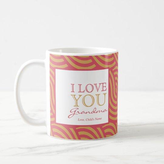 Pink & Orange Swirl Mug  $20.95