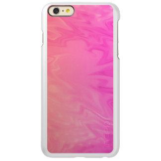 Pink Orange Texture Background Incipio Feather® Shine iPhone 6 Plus Case