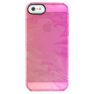 Pink Orange Texture Background Uncommon Clearly™ Deflector iPhone 5 Case