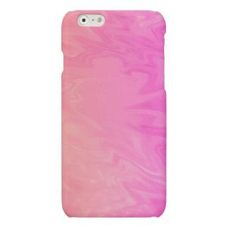 Pink Orange Texture Background Matte iPhone 6 Case