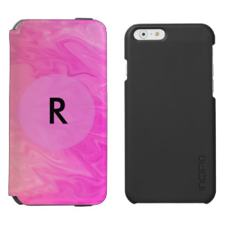 Pink Orange Texture Background Incipio Watson™ iPhone 6 Wallet Case