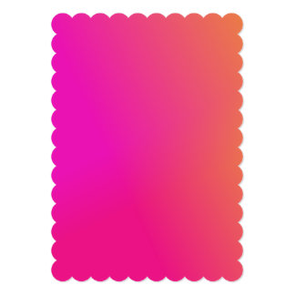 Pink Orange Yellow Ombre Card
