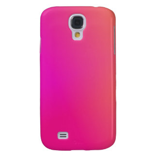 Pink Orange Yellow Ombre Galaxy S4 Covers