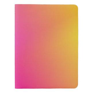 Pink Orange Yellow Ombre Extra Large Moleskine Notebook