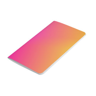 Pink Orange Yellow Ombre Journal