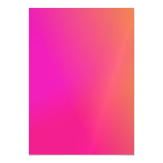 Pink Orange Yellow Ombre Magnetic Card