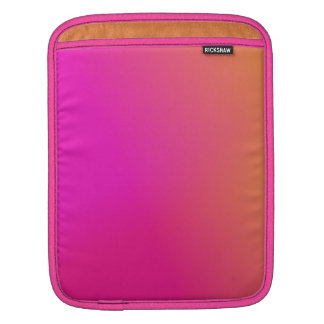 Pink Orange Yellow Ombre Sleeve For iPads