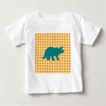Pink Orange Yellow Polka Dot Pattern Gifts Baby T-Shirt