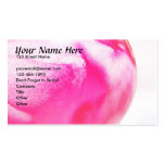 Pink Orb Business Card Template