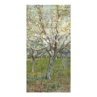 Pink Orchard by Vincent Van Gogh Card