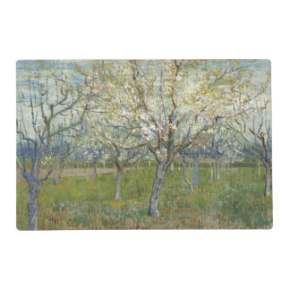 Pink Orchard by Vincent Van Gogh Placemat