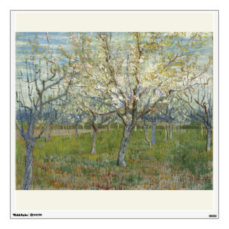 Pink Orchard by Vincent Van Gogh Wall Sticker