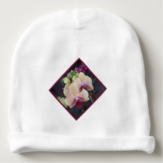 Pink Orchid Baby Beanie
