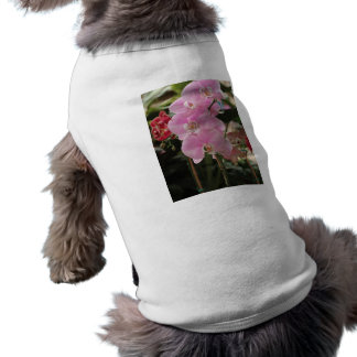 Pink Orchid blooms Dog Tee