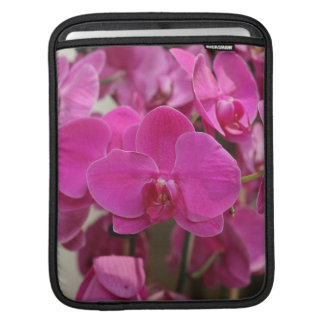 Pink Orchid blooms iPad Sleeve