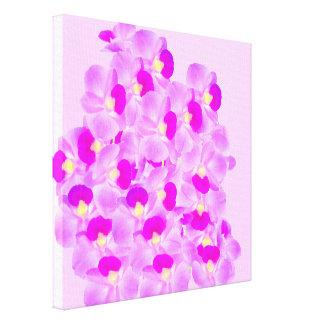 Pink Orchid Bouquet Canvas Print