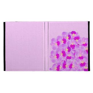 Pink Orchid Bouquet iPad Case