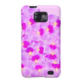 Pink Orchid Bouquet Samsung Galaxy S2 Cover